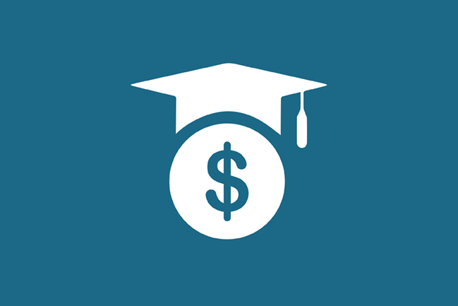Tuition icon blue