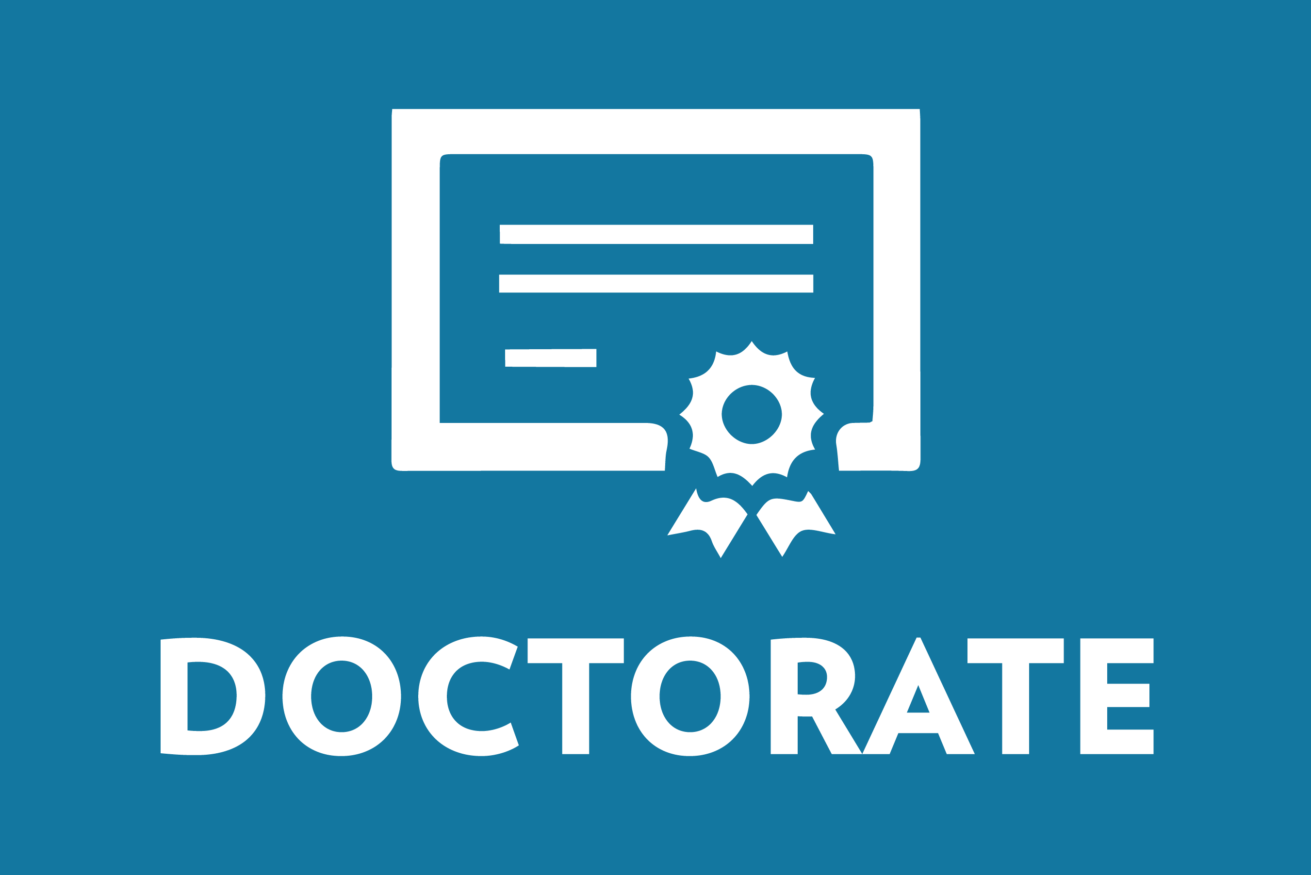 doctorate icon