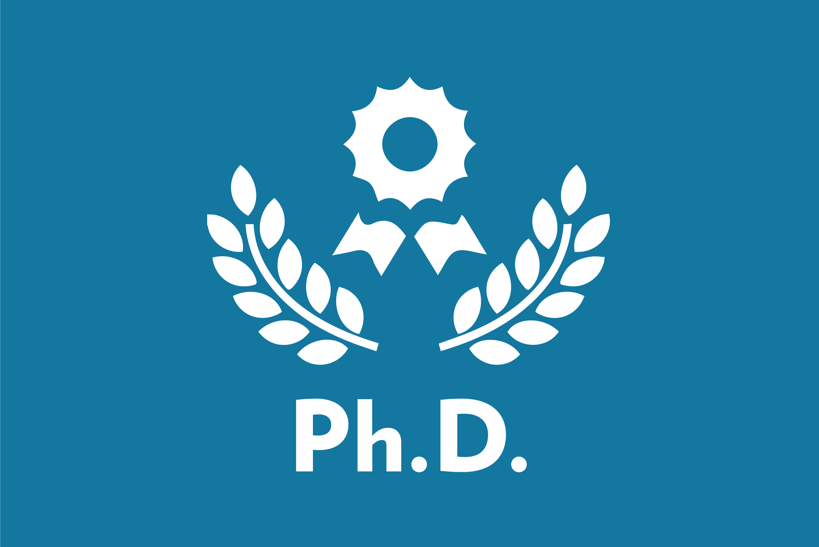 PhD doctor of philosophy icon