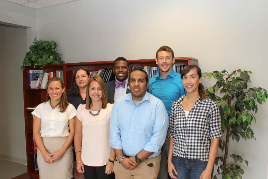 PhD students with the College of Health Professions